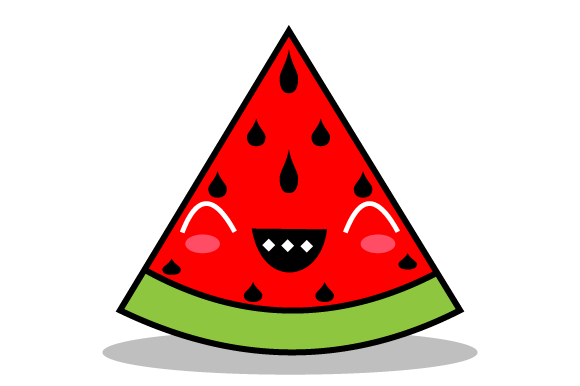 Download Free Joyous Red Watermelons Graphic By Yapivector Creative Fabrica for Cricut Explore, Silhouette and other cutting machines.