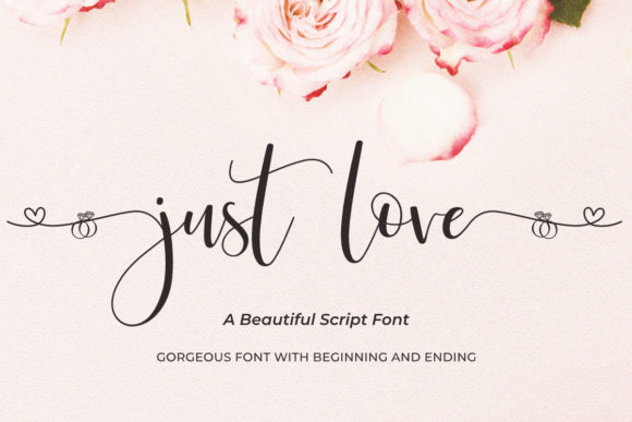 Print on Demand: Just Love Script & Handwritten Font By jimtypestudio