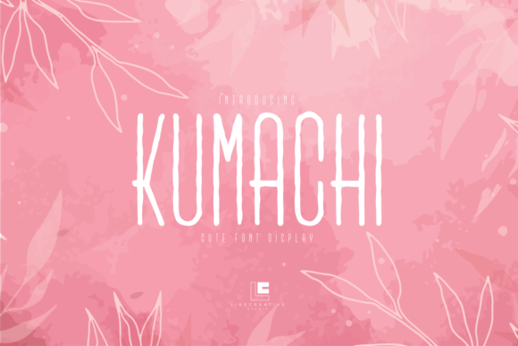 Print on Demand: Kumachi Display Font By Line creative