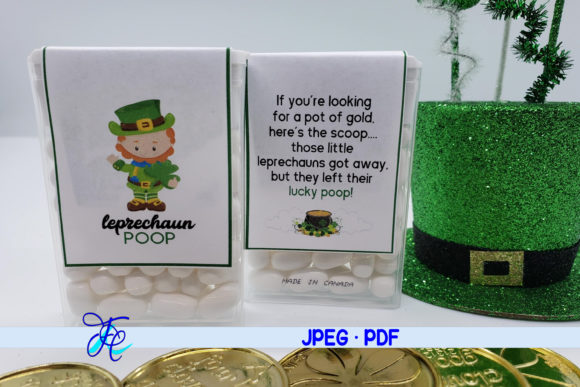 Leprechaun Poop - Tic Tac Label Graphic Crafts By Family Creations