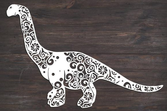 Download Free Long Neck Dinosaur Graphic By Fortunasvg Creative Fabrica for Cricut Explore, Silhouette and other cutting machines.