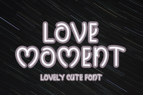 Download Free Love Moment Font By Inermedia Studio Creative Fabrica for Cricut Explore, Silhouette and other cutting machines.
