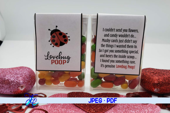 Lovebug Poop - Tic Tac Label Graphic Crafts By Family Creations