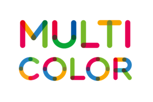 Print on Demand: Multicolor Color Fonts Font By neogrey