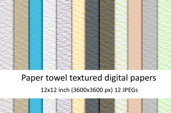 Download Free Paper Towel Textures Graphic By Andrea Kostelic Creative Fabrica for Cricut Explore, Silhouette and other cutting machines.