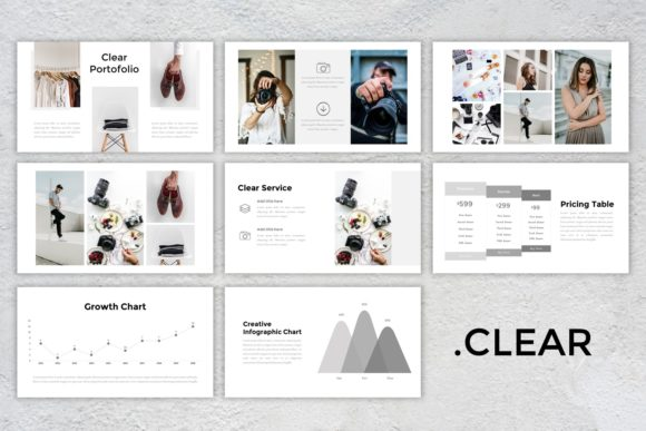 Download Free Presentation Templates Clear Graphic By Listulabs Creative for Cricut Explore, Silhouette and other cutting machines.