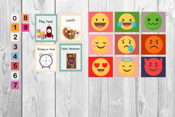 Printable Kids Calendar Graphic Preview