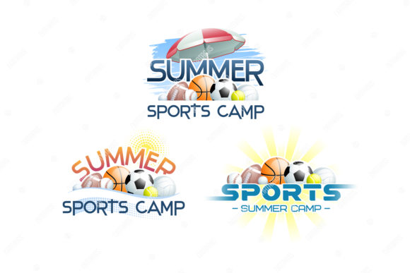 Sports Summer Camp Concept. Graphic Illustrations By Natariis Studio