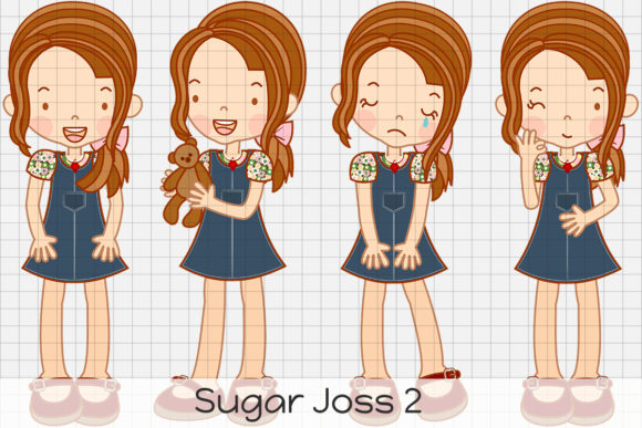 Download Free Sugar Joss 2 Graphic By Dolls To Go Creative Fabrica for Cricut Explore, Silhouette and other cutting machines.