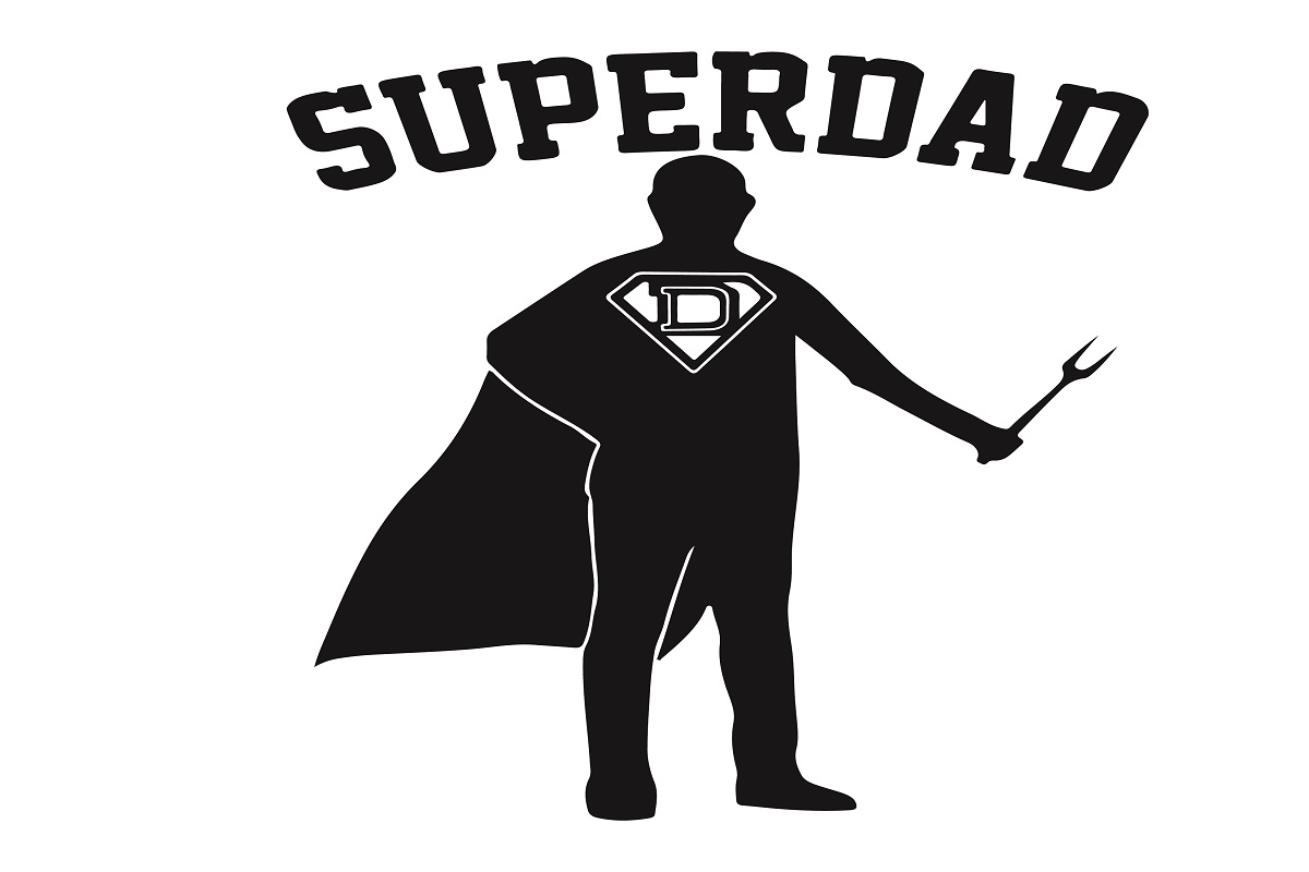 Download Free Superdad Father S Day Graphic By Printvectors Creative Fabrica for Cricut Explore, Silhouette and other cutting machines.