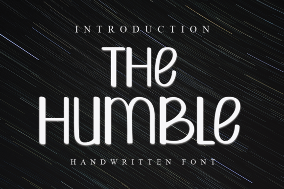 Print on Demand: The Humble Script & Handwritten Font By ONE DESIGN - Image 1