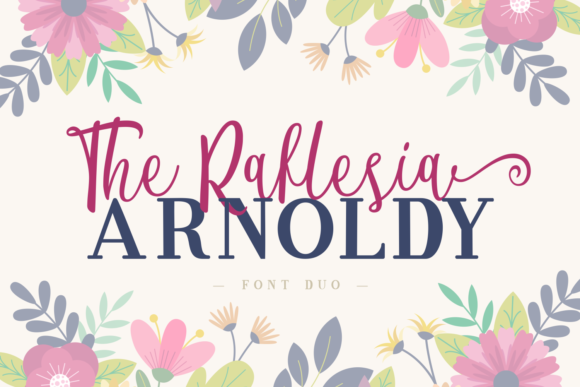 Print on Demand: The Raflesia Arnoldy Script & Handwritten Font By Dreamink (7ntypes)