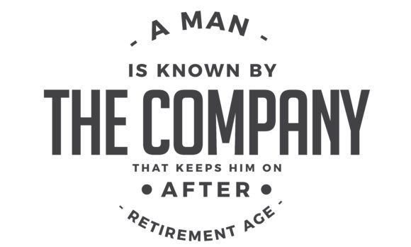 Download Free A Man Is Known By The Company Graphic By Baraeiji Creative Fabrica for Cricut Explore, Silhouette and other cutting machines.