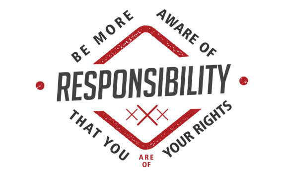 Download Free Be More Aware Of Responsibility Graphic By Baraeiji Creative for Cricut Explore, Silhouette and other cutting machines.