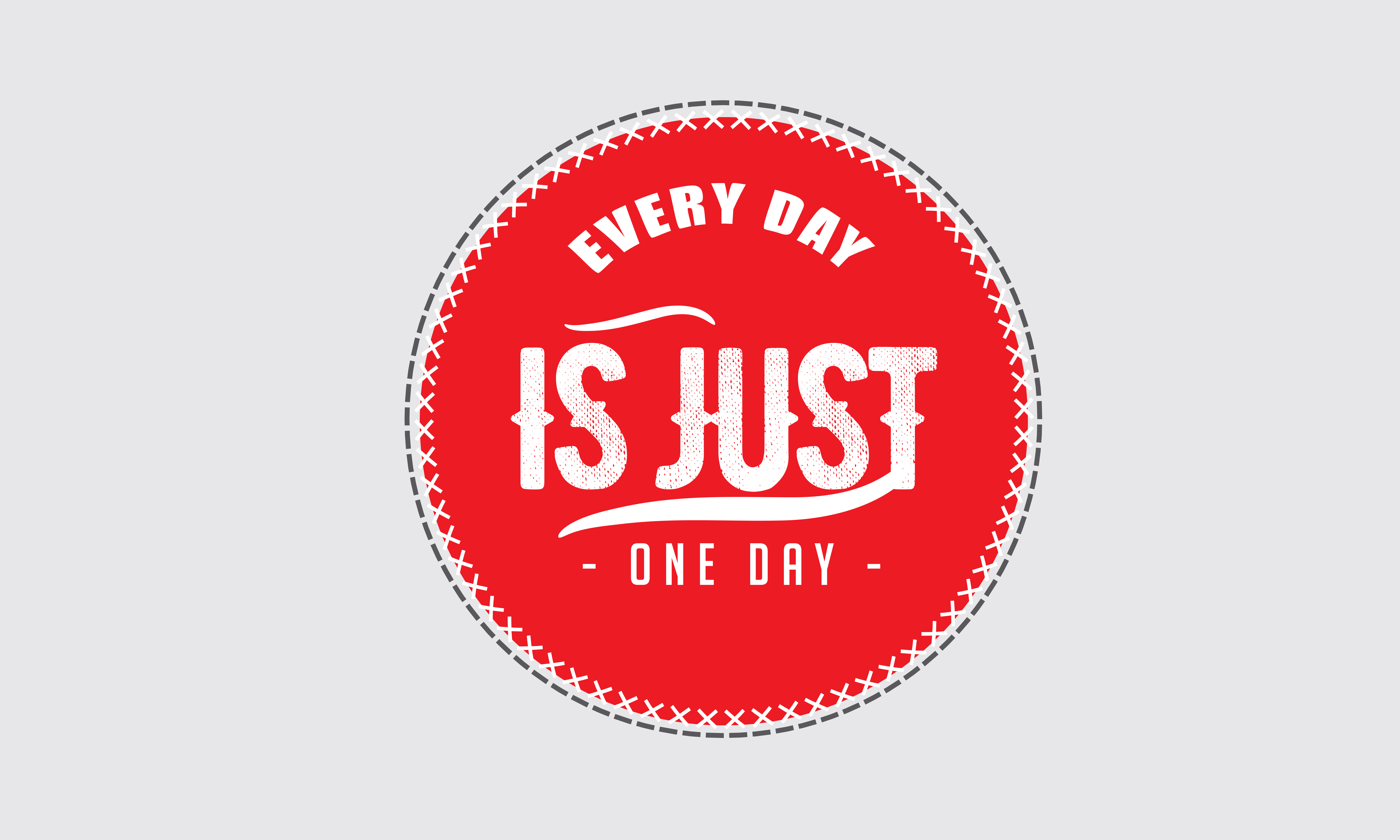 Download Free Just One Day Graphic By Baraeiji Creative Fabrica for Cricut Explore, Silhouette and other cutting machines.