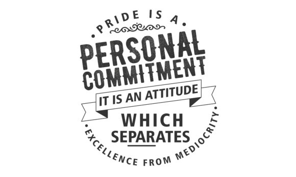 Download Free Pride Is A Personal Commitment Graphic By Baraeiji Creative SVG Cut Files
