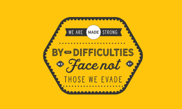 Download Free We Face Not By Those We Evade Graphic By Baraeiji Creative Fabrica for Cricut Explore, Silhouette and other cutting machines.