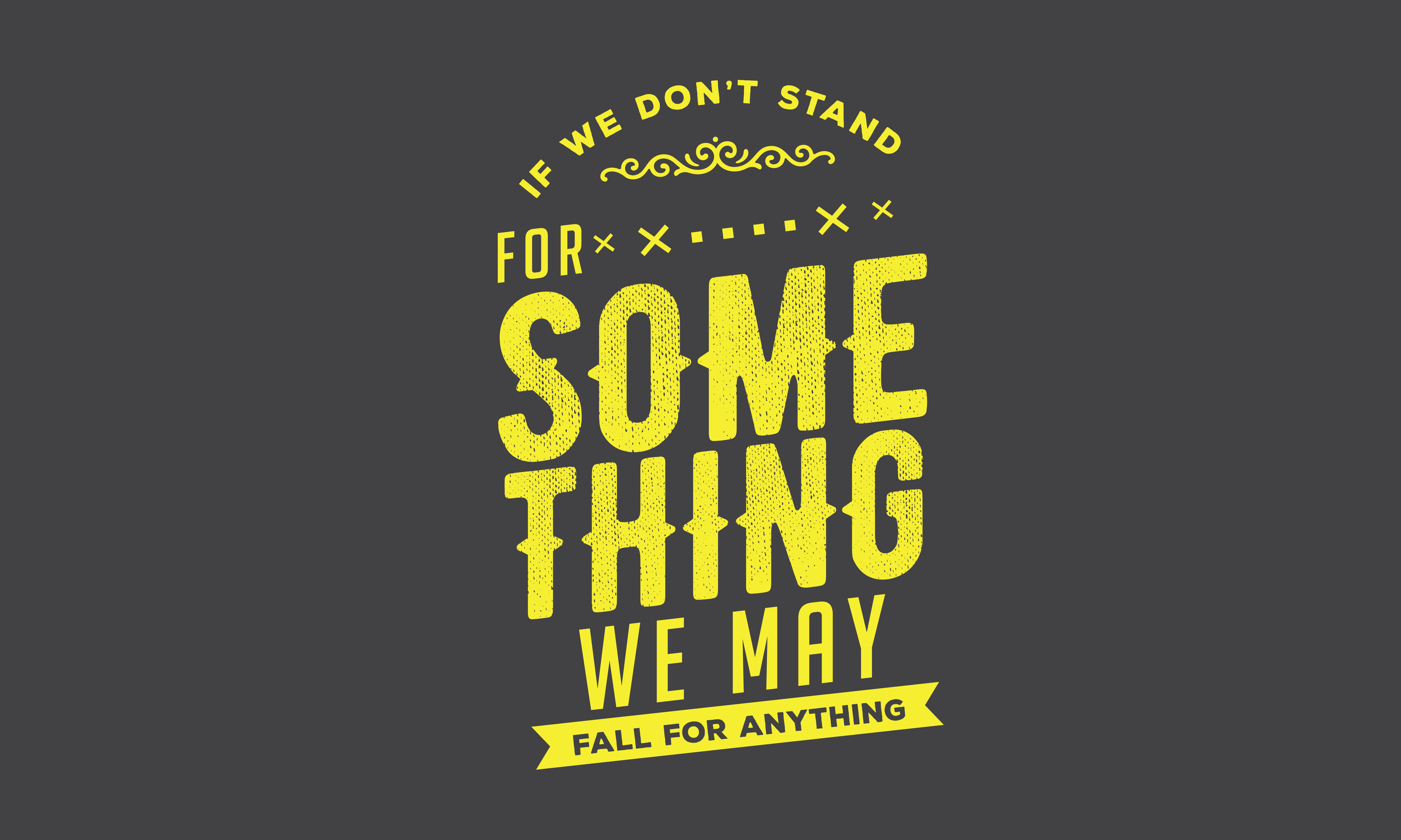 Download Free We May Fall For Everything Graphic By Baraeiji Creative Fabrica for Cricut Explore, Silhouette and other cutting machines.