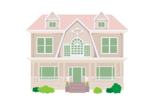 Dutch Colonial House Home Craft Cut File By Creative Fabrica Crafts