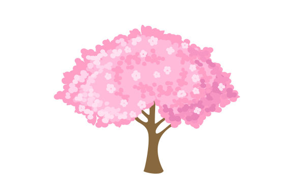 Download Free Cherry Blossom Tree Svg Cut File By Creative Fabrica Crafts Creative Fabrica for Cricut Explore, Silhouette and other cutting machines.