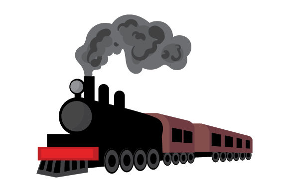 Download Free Old School Train Svg Cut File By Creative Fabrica Crafts for Cricut Explore, Silhouette and other cutting machines.
