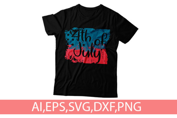 Download Free 4th Of July Independence Day T Shirt Graphic By Storm Brain for Cricut Explore, Silhouette and other cutting machines.