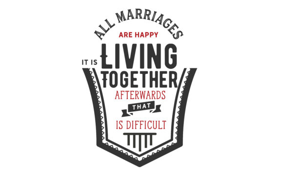 Download Free All Marriages Are Happy Graphic By Baraeiji Creative Fabrica for Cricut Explore, Silhouette and other cutting machines.