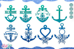 Anchor Mini Bundle   Graphic Illustrations By Cute files