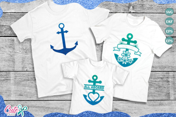 Download Free Anchor Mini Bundle Graphic By Cute Files Creative Fabrica for Cricut Explore, Silhouette and other cutting machines.