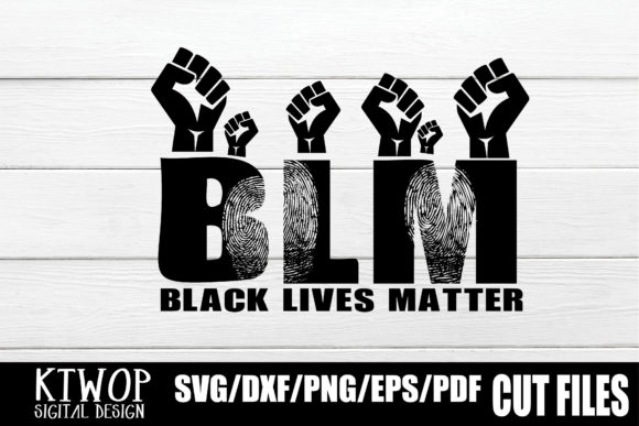 Print on Demand: Black Lives Matter - Fists Graphic Crafts By KtwoP