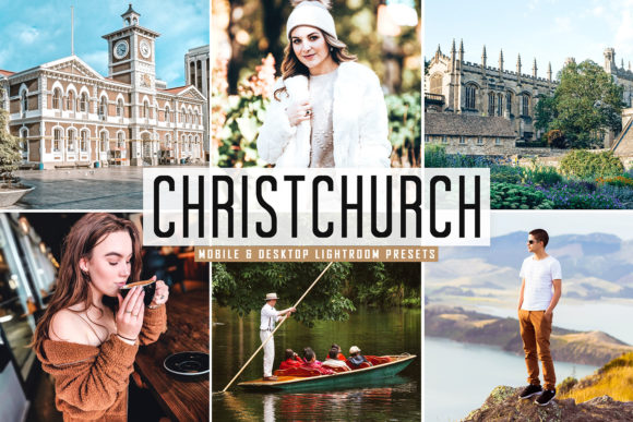 Print on Demand: Christchurch Lightroom Presets Pack Graphic Actions & Presets By Creative Tacos