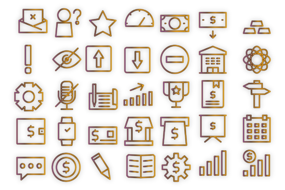 Download Free Company Commerce Icons Graphic By Designvector10 Creative Fabrica for Cricut Explore, Silhouette and other cutting machines.