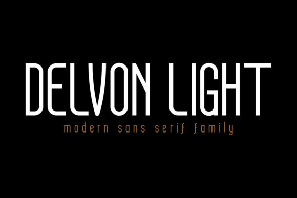 Download Free Delvon Light Font By Madededuk Creative Fabrica for Cricut Explore, Silhouette and other cutting machines.