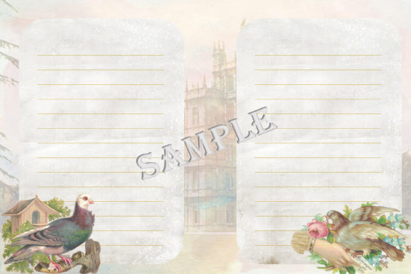 Download Free Downton Abbey Journal Kit Ephemer Graphic By The Paper SVG Cut Files