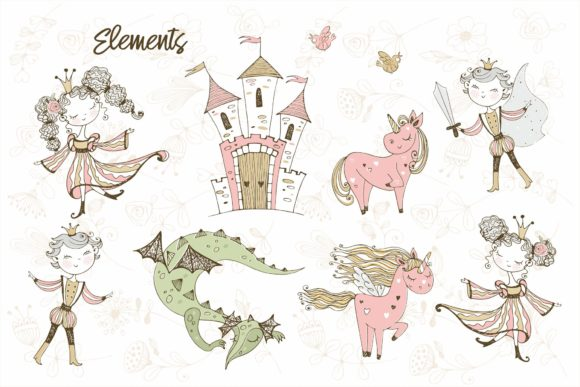 Download Free Fairyland Graphic By Grigaola Creative Fabrica for Cricut Explore, Silhouette and other cutting machines.