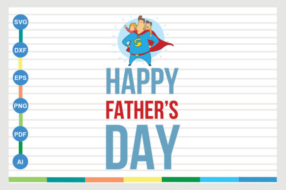 Download Free Father Design Happy Father S Day Graphic By Sajidmajid441 for Cricut Explore, Silhouette and other cutting machines.