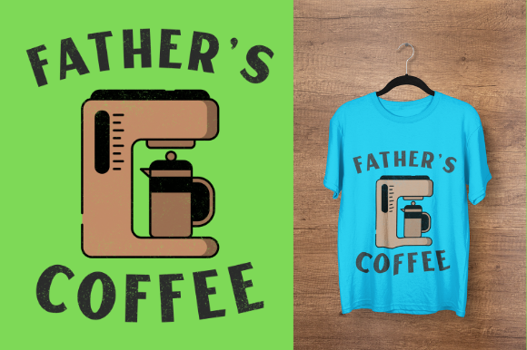 Download Free Father S Day Coffee Design Graphic By Endlessgraphical for Cricut Explore, Silhouette and other cutting machines.