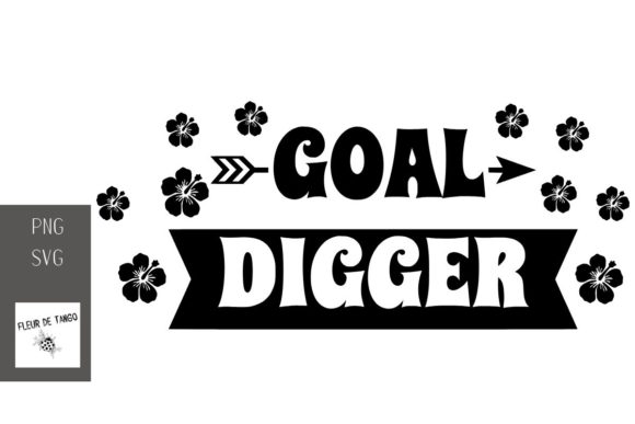 Print on Demand: Goal Digger Graphic Print Templates By Fleur de Tango