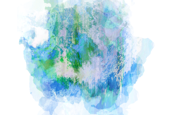 Print on Demand: Grunge Ink Splashes Textures Backdrops Graphic Backgrounds By Prawny - Image 6