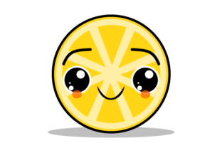 Download Free Illustration Of A Happy Crying Orange Graphic By Yapivector for Cricut Explore, Silhouette and other cutting machines.
