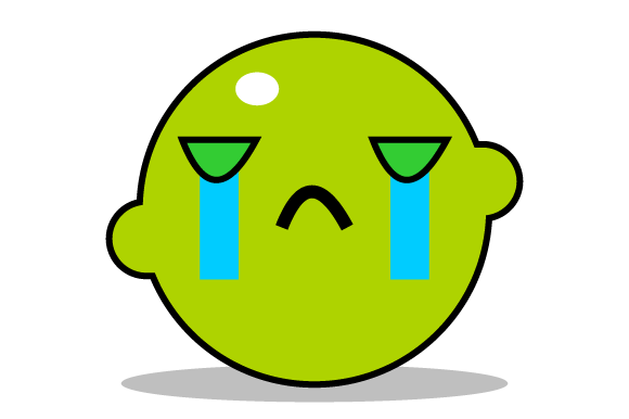 Download Free Illustration Of Lemon Crying Graphic By Yapivector Creative SVG Cut Files