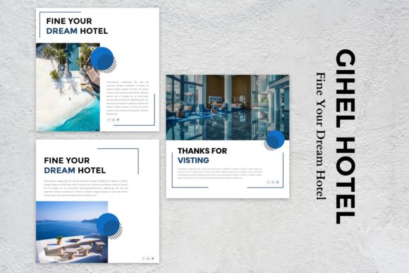 Download Free Instagram Feed Gihel Hotel Graphic By Listulabs Creative Fabrica for Cricut Explore, Silhouette and other cutting machines.