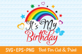 Download Free It S My Birthday Happy Birthday Girl Graphic By Olimpdesign for Cricut Explore, Silhouette and other cutting machines.