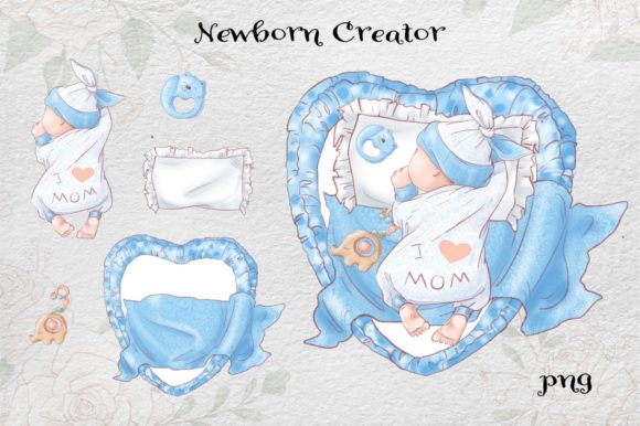 Print on Demand: It's a Boy! Graphic Illustrations By nicjulia - Image 14