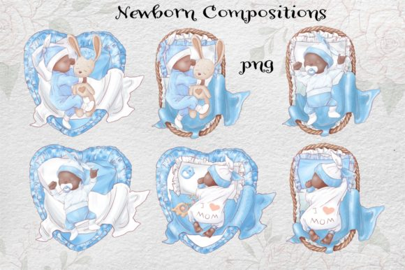 Print on Demand: It's a Boy! Graphic Illustrations By nicjulia - Image 8