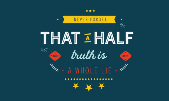 Lies And Lying Quotes Graphic By Baraeiji Creative Fabrica