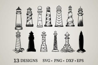Lighthouse Bundle   Graphic Print Templates By Euphoria Design