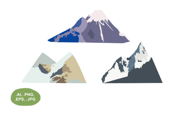 Mountain Graphic Illustrations By Salfiart