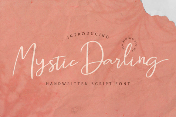 Download Free Mystic Darling Font By Stringlabs Creative Fabrica for Cricut Explore, Silhouette and other cutting machines.