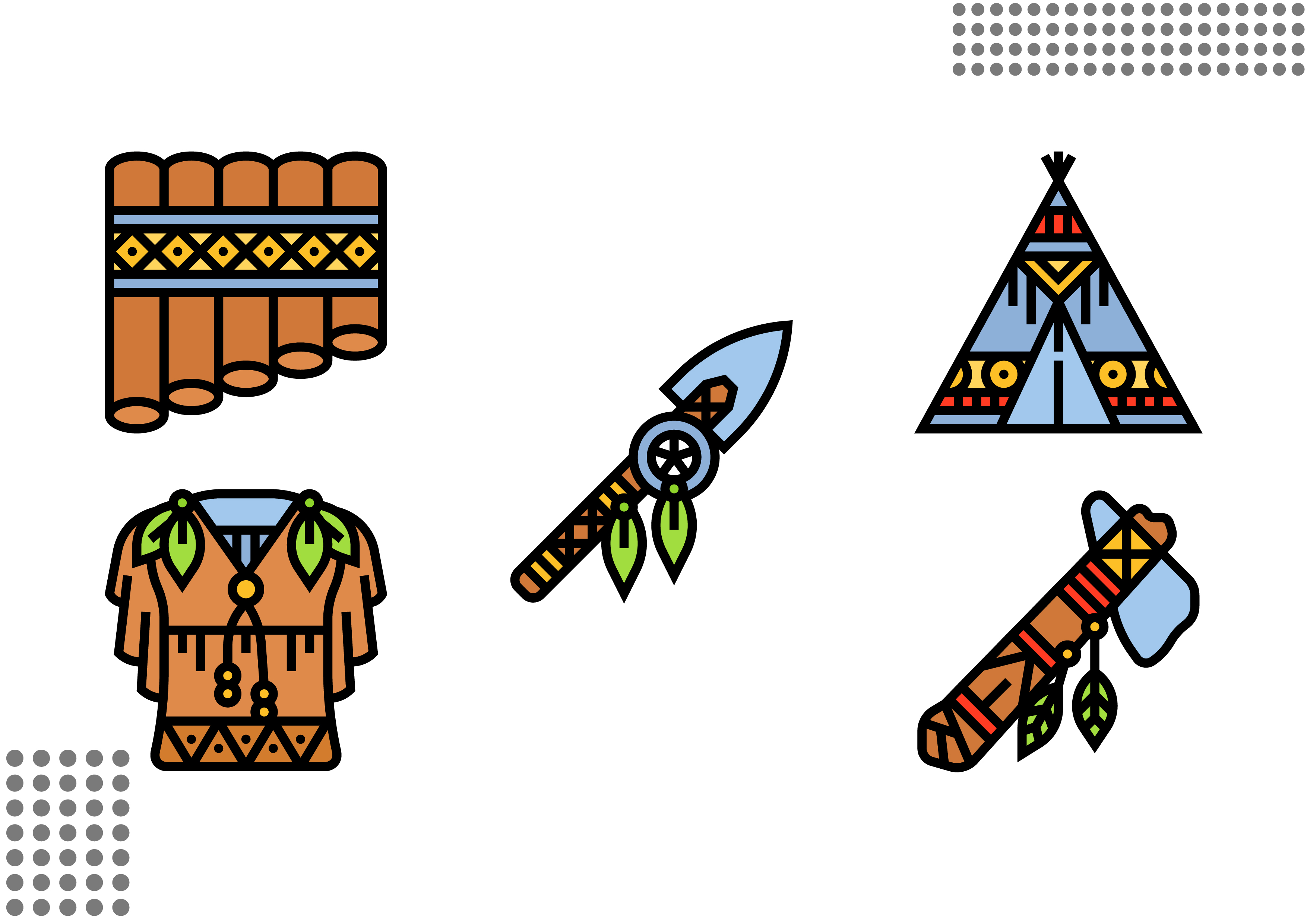 Download Free Native American Graphic By Cool Coolpkm3 Creative Fabrica for Cricut Explore, Silhouette and other cutting machines.